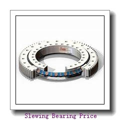 china supplier price high quality  large construction machine without gear Double row ball slewing bearing