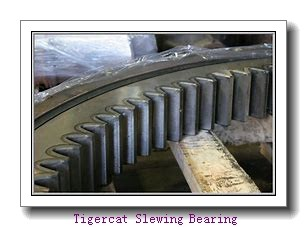 single row ball bearing slewing rings swing bearing external ring gear turntable bearing no tooth
