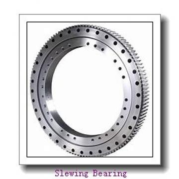 without teeth slewing bearing with light worm motor