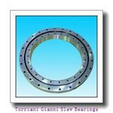 four point contact ball slewing bearing outer gear port crane slewing ring bearing